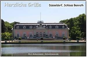 Schloss Benrath Dusseldorf Germany