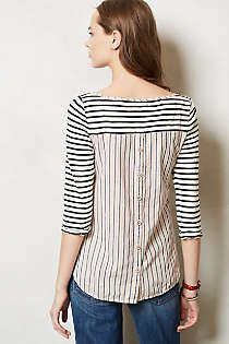 Anthropologie - Block Pocket Tee