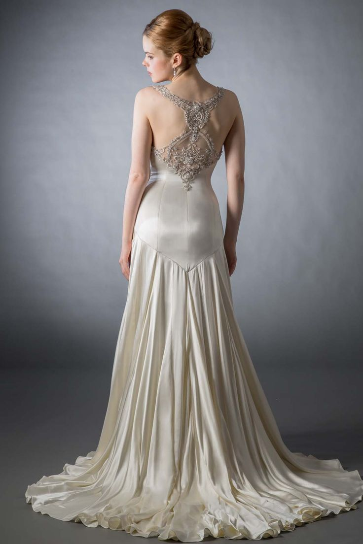 Silk Charmeuse Wedding Gowns – fashion dresses