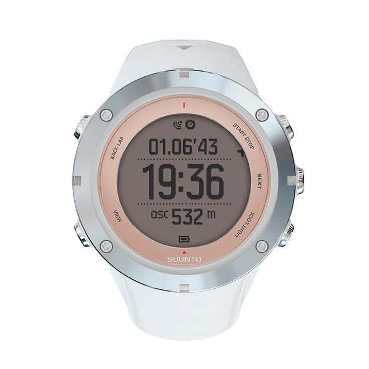 The multisport GPS watch with mobile connection, designed for women