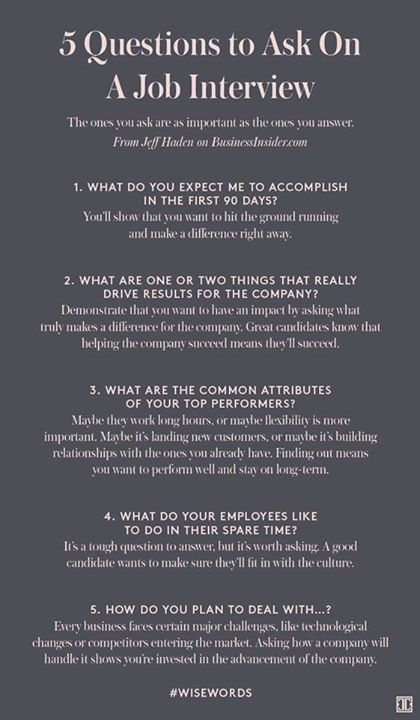 Questions To Ask On A Job Interview - Ivanka Trump