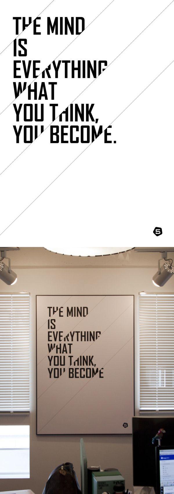 Typo Poster Graphic / Typo / Poster