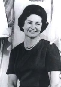 """Lady Bird Johnson Johnson,1912-200~ """"The first lady is, and always has been, an unpaid public servant elected by one person, her husband.""""~~Nicknamed Lady Bird as a child, Lyndon B. Johnson's wife conducted her own campaign for her husband's election and lobbied for environmental protection"""