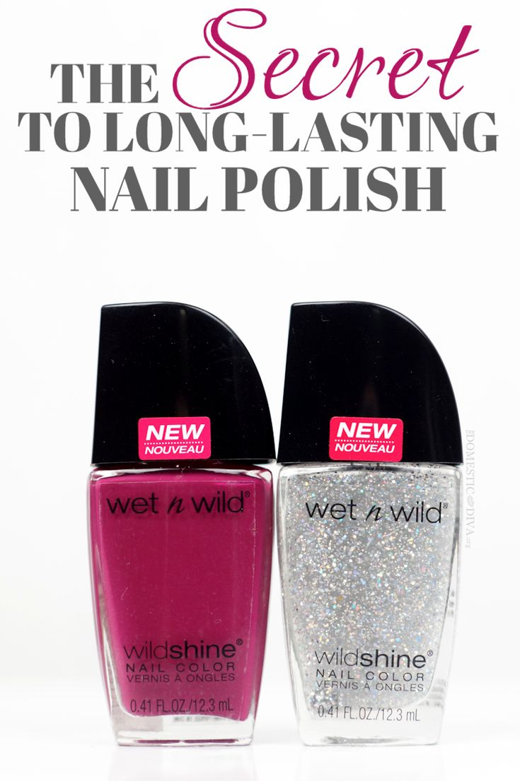 The Secret to Long Lasting Nail Polish no matter what the brand plus a look at the New Wet N Wild Nail Polish at the Drugstore