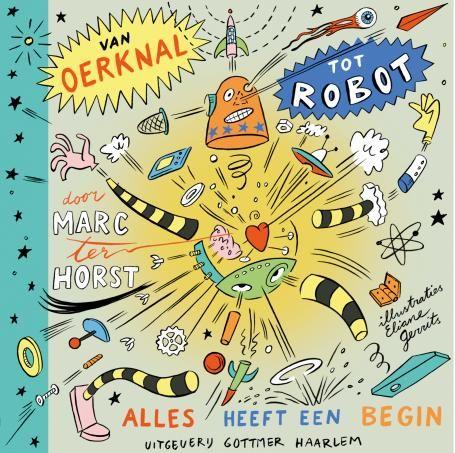 Het begin van...alles! Alles heeft een begin, van het heelal tot jijzelf. Ontdek in het boek 'Van oerknal tot robot' alles over het begin van sterren, leven en nog veel meer. http://www.biologieplusschool.nl/nieuws/recensie/het-begin-van-alles