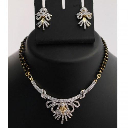 Beautiful Mangalsutra Necklace Set