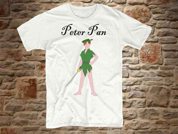 peterpan a 100 cotton branded Tshirt in a by communityshirt, $15.50