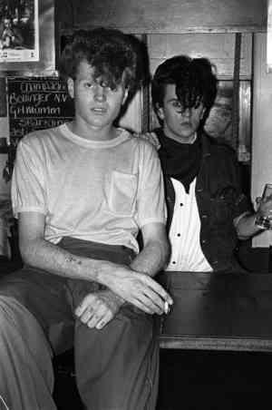 Steve Strange & Rusty Egan