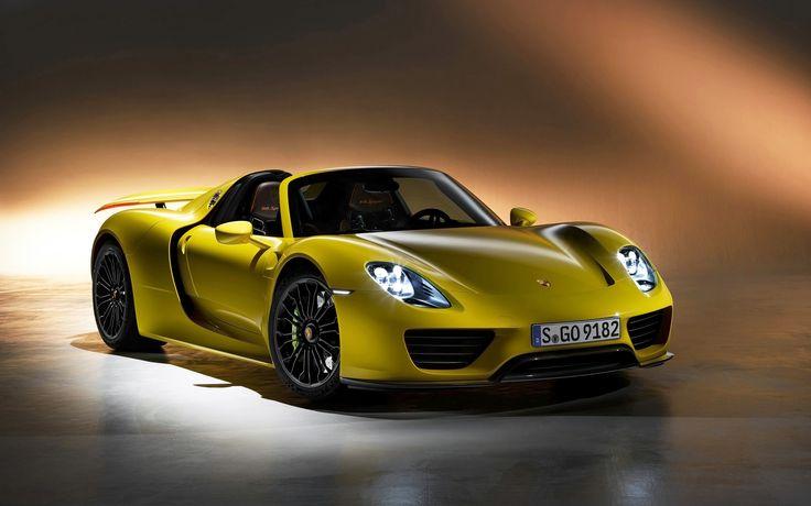 2014 Porsche 918 Spyder #Background