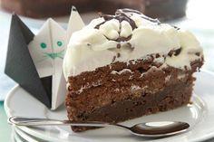 Torta brownie de chocolate con mousse - Cocina y Recetas - lanacion.com