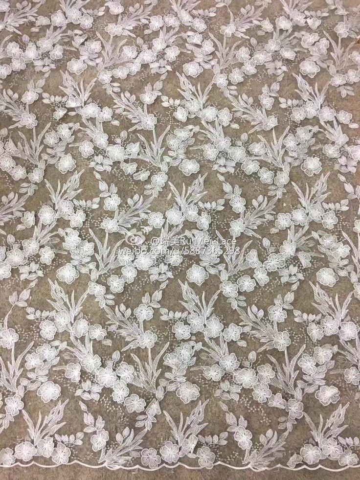 2017 FLOWER LACE-JONAS  China Lace Supplier& Manufacturer Contact: dresschina@hotmail.com