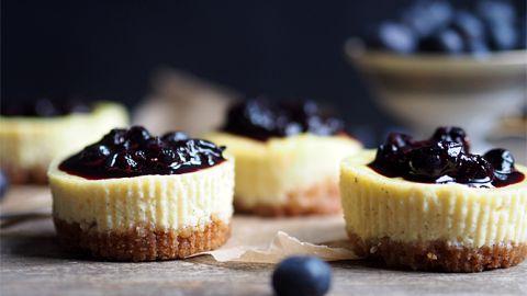 Mini blueberry cheesecake – Ida Gran-Jansen