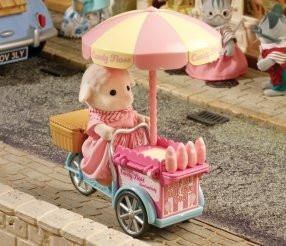Buy Now!  Australia! Sylvanian Families Dolly's Candy Floss Cart