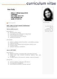 Resultado de imagen para modelos de curriculum vitae 2014 simples
