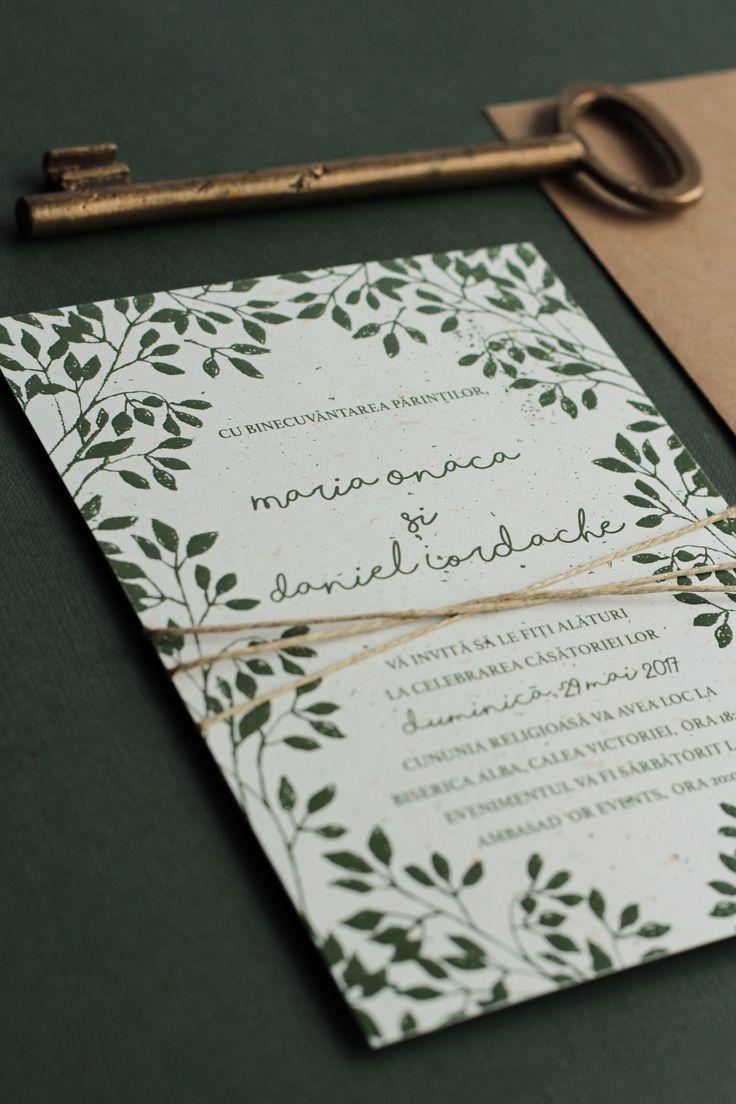Invitatie Maria+Daniel - PAPIRA    Foarte drăguț, dar nu se potrivește pentru nunta noastră