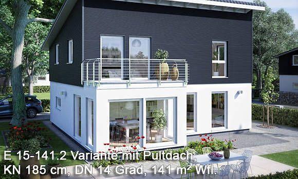 ber ideen zu pultdach auf pinterest stadtvilla einfamilienhaus und fertigh user. Black Bedroom Furniture Sets. Home Design Ideas
