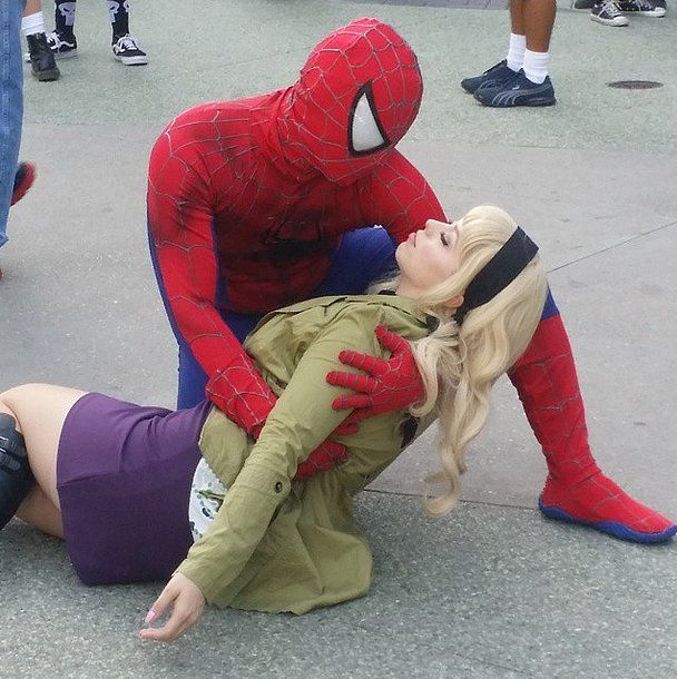 Too soon, Gwen Stacy fans?<-- Yeah Dean, about 6 seconds too soon...