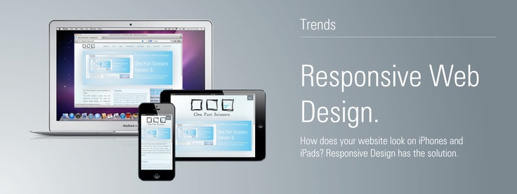 Responsive Web Design... how does your website look on Smartphones and iPads? Responsive Design has the solution. Read more about OPS Responsive Web Design here:    http://onepartscissors.com/2013/02/responsive-web-design
