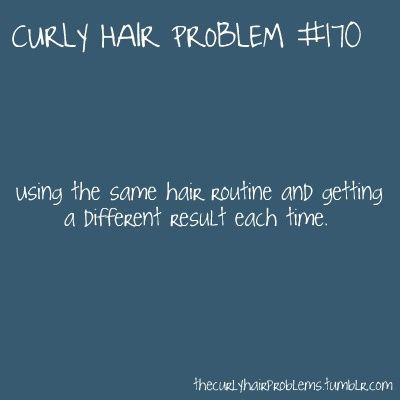 Curly Hair Problem #170