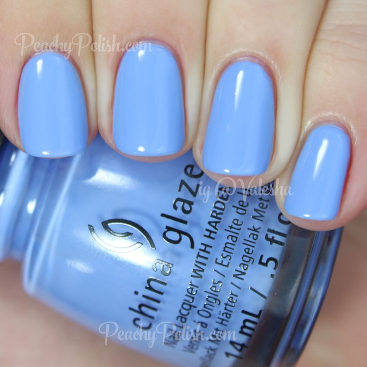 China Glaze Boho Blues | Spring 2015 Road Trip Collection | Peachy Polish