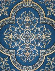 02-30 Fabric Blue Close Up