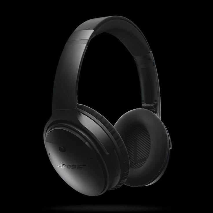 Bose QuietComfort 35 wireless headphones (svart)