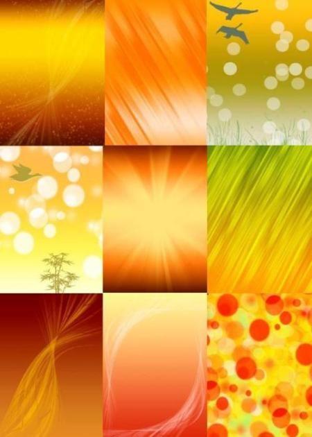 Фоны Осень золотая