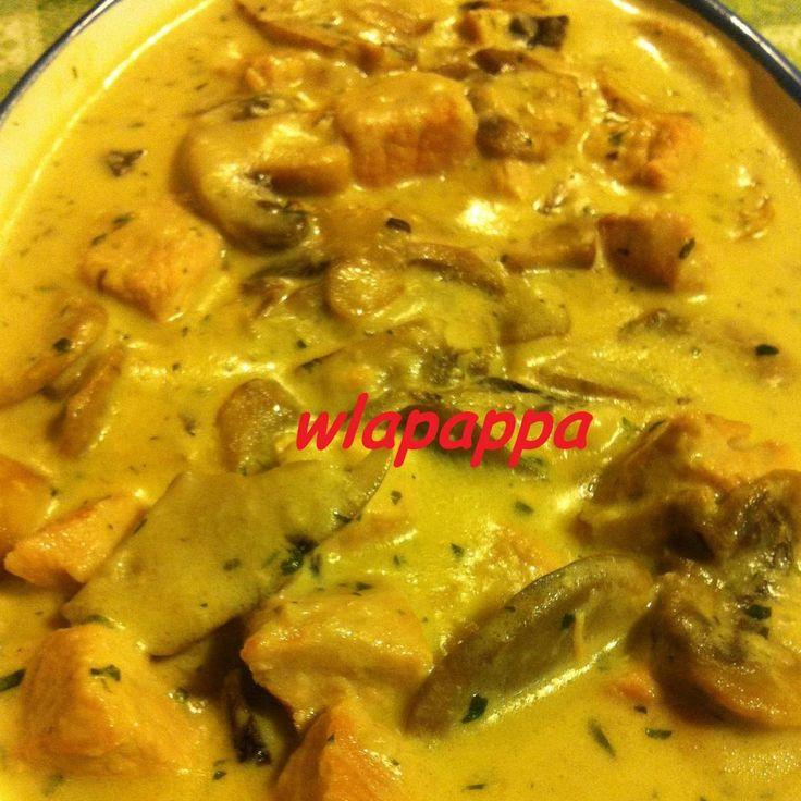 Ricetta Bocconcini di lonza con funghi e panna pubblicata da wlapappa - Questa ricetta è nella categoria Secondi piatti a base di carne e salumi
