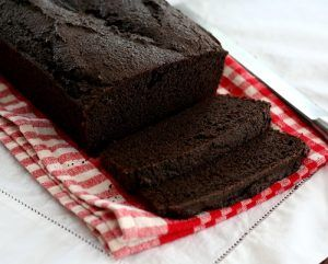 Low Carb Chocolate Pound Cake