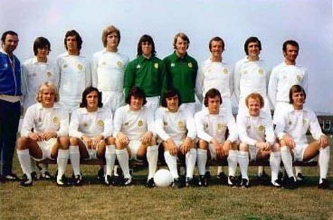 Leeds Utd team group in 1974-75  | Leeds United | Leeds