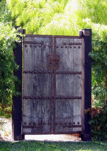 14 Best Doors Gates Images On Pinterest Garden