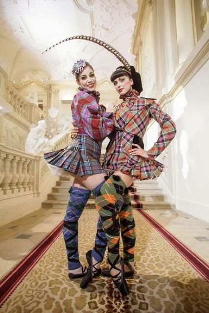 that's the tartan beauty (Y) Vivienne Westwood designs Costumes for the Vienna New Year's Concert 2014