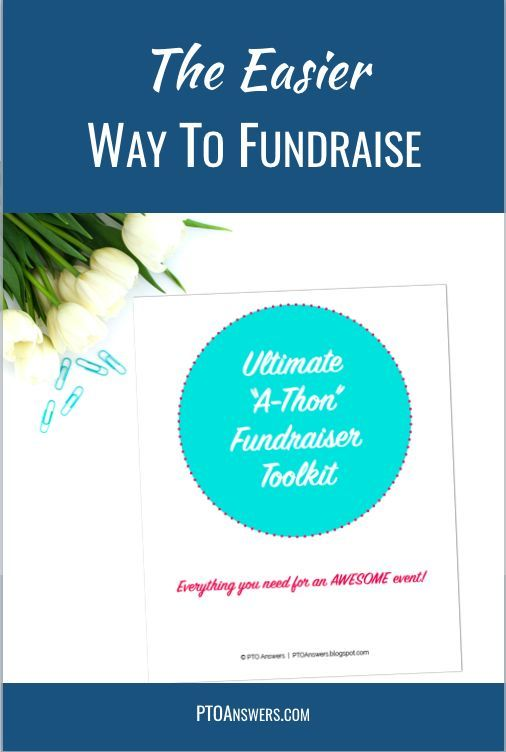 """Get this fabulous fundraiser planning kit before you start putting the details together for your PTA / PTO's next walk-a-thon, read-a-thon, or other """"a-thon"""" fundraiser! It has all of the essential forms you need for an outstanding fundraiser!   Included in this Ultimate PTA/PTO A-Thon Fundraiser Toolkit is everything you'll need (except for the volunteers!) to run a wildly successful fundraiser!"""