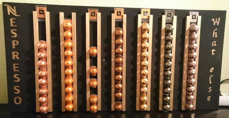 25 best ideas about nespresso kapselhalter on pinterest. Black Bedroom Furniture Sets. Home Design Ideas