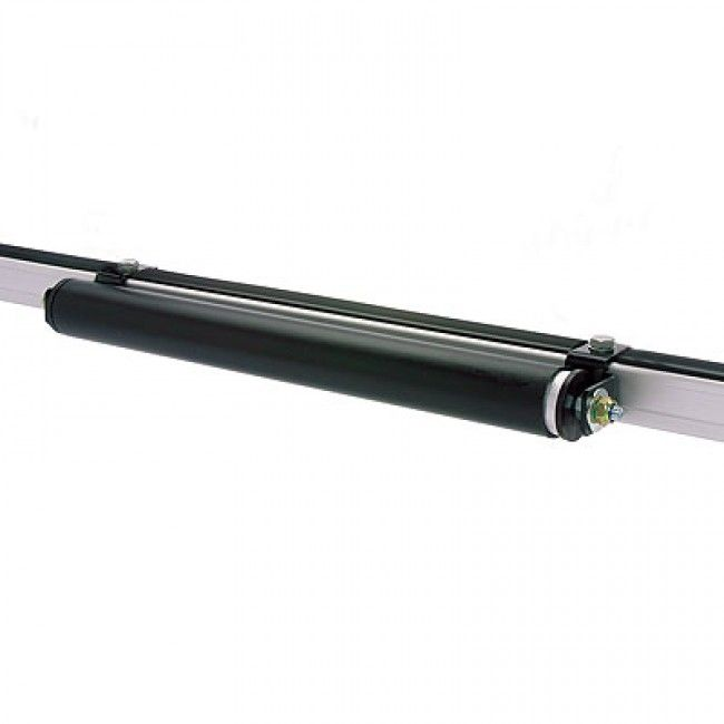 ALLOY ROLLER 680MM INCL MOUNTING BRKTS - Roof Rack Superstore