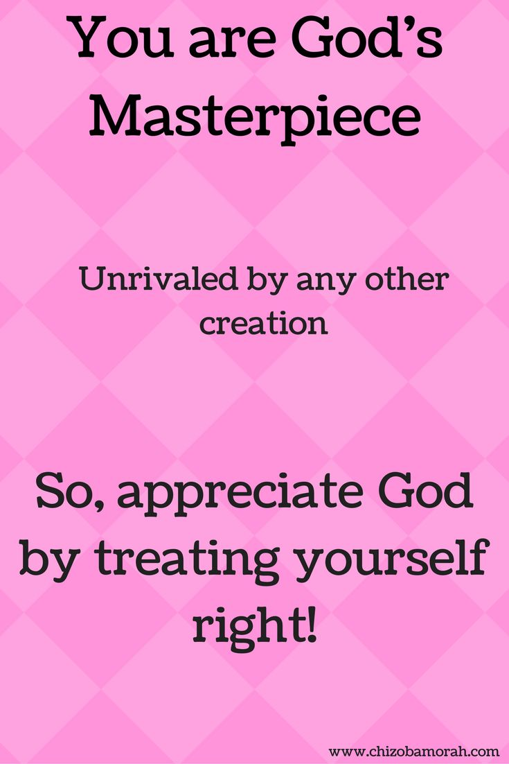 You MUST make it a habit to love yourself and appreciate yourself. It is a way of showing appreciation to God, who lovingly made you. You are beautiful, you are his masterpiece. #christianwomen #encouragewomen #encouragement #wordsthatinspire #quotes #biblequote #christianmen #upliftment #inspiration #motivation #wednesday #wednesdaywisdom