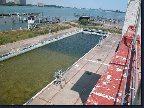 detroit boat club, olympic size pool