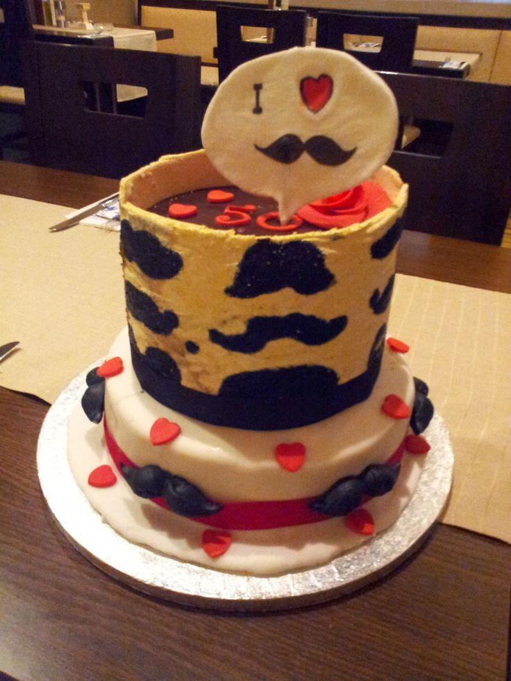Retro Bakery ~ Backen wie zu Omas Zeit: I love Schnurrbart