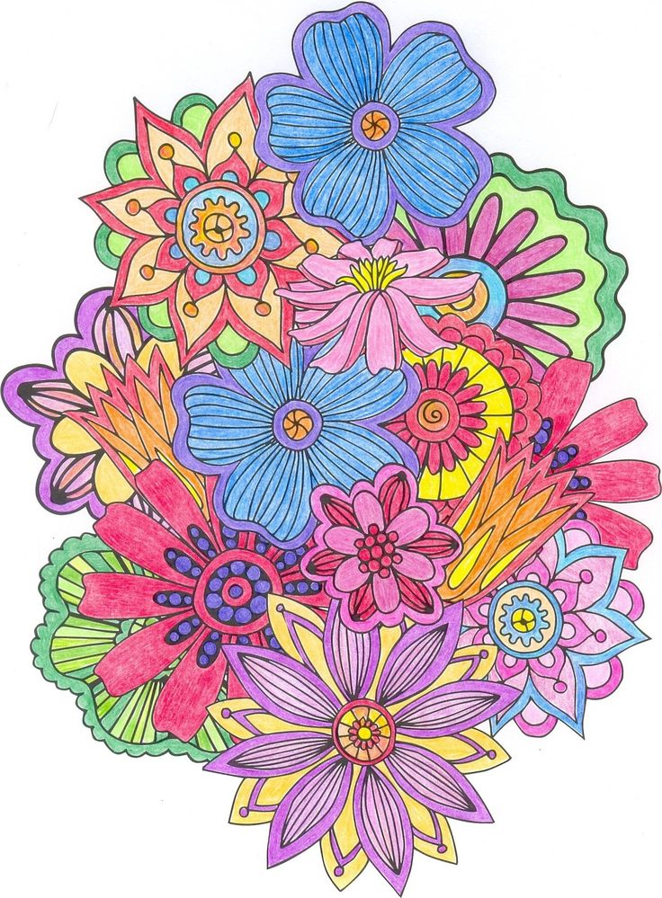 colorama coloring pages colored - photo#15