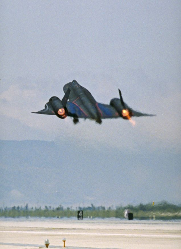 SR-71s logged a combined total of 53,490 hours of flight time, of which 11,675 had been spent at Mach 3 plus. They flew 3,551 operational sorties for a total of 17,294 hours, during which more than a thousand surface-to-air missiles had been fired at them. All missed.