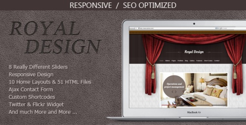 ThemeForest - Royal Design - Modern and Clean