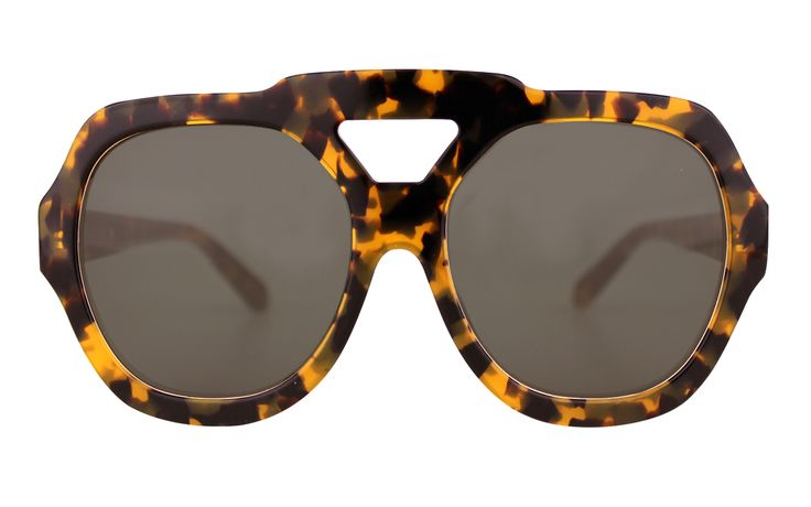 Think Big - Oversized sunglasses are in this #aw14! Karen Walker Utopia sunglasses | sunglasscurator.com