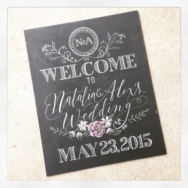 Update on this lovely Welcome sign, bride wanted a pop of pink in the florals which I am happy to apply, the colours make the board look so fresh! Can't wait to see it in the gold frame they have!  #weddings #weddingideas #weddingsigns #welcomeboard #weddingstoronto #weddingdetails #weddingdetails #wedding #handdrawn #handlettered #handlettering #chalkartist #chalkboards #toronto #torontoartisan #pretty #florals