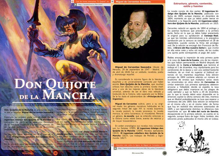 Don Quixote. Page 1/2. Bocamolla Issue #5.