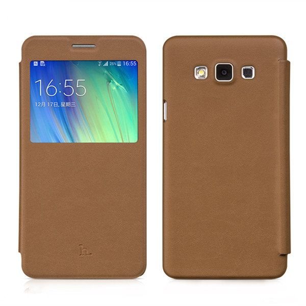 HOCO Brand View Window PU Leather Case For Samsung Galaxy A7…