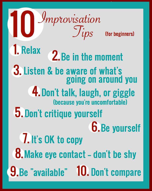 Improv Tips