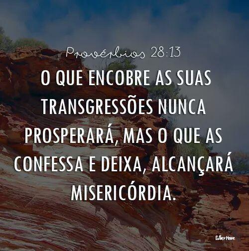 Provérbios 28:13