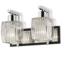 Light And Living Gleaming Incandescent CFL Wall Light Silver And  Transparent   Find Wall Lights Online At Low Prices. Compare Wall Lamps  Price List In India ...
