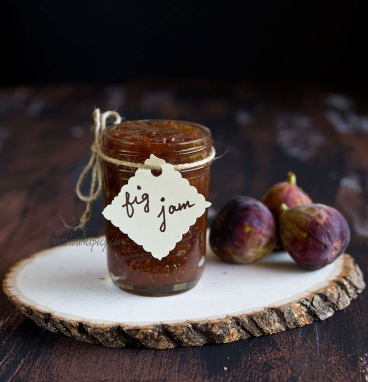 Old Fashioned Fig Jam |Jam, Jelly and Preserves|