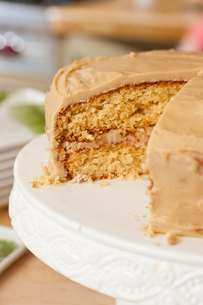 Rosanna Bowles & her recipe for Grandma's Caramel Cake are featured i...